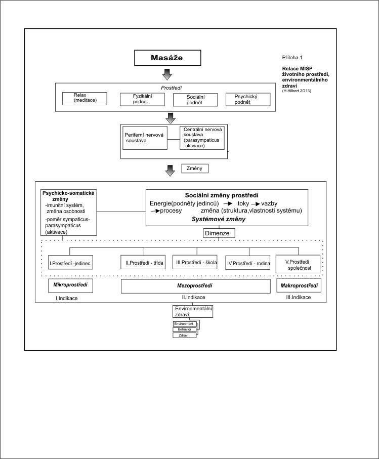 Diagram - působení a dosah MISP