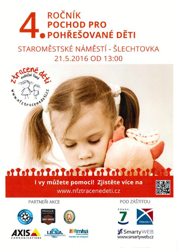 Pochod pro pohřešované děti